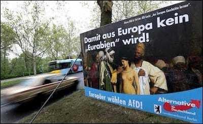 """So that Europe won't become Eurabia."""