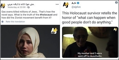 Al Jazeera Suspends Two Journalists for Questioning the Holocaust