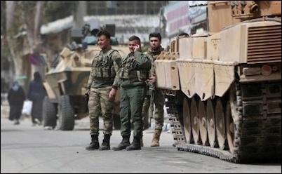 Is the U.S. Handing Northeast Syria to Turkey?