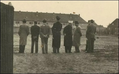 Photographic Evidence Shows Palestinian Leader Amin al-Husseini at a Nazi Concentration Camp