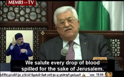 PA president Mahmoud Abbas has voiced incessant anti-Semitic and anti-Israel incitement.